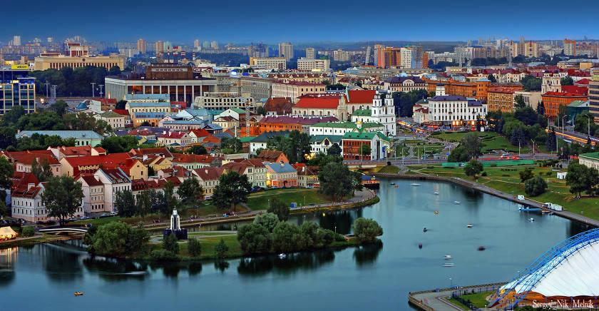 Самые большие города Белоруссии