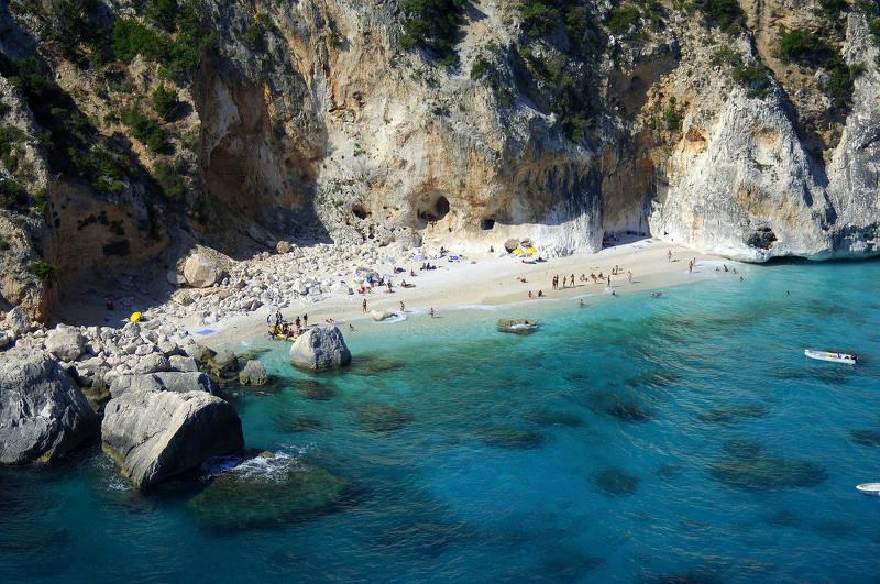 Кала Голоритце бауней – Залив орозей в Сардинии
