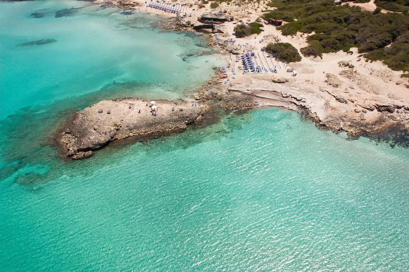 Пунта делла Суина Галлиполи - Лечче – Апулия — лучший пляж для детей