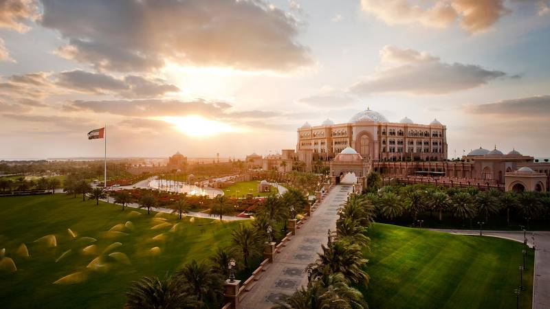 Emirates Palace, Абу-Даби