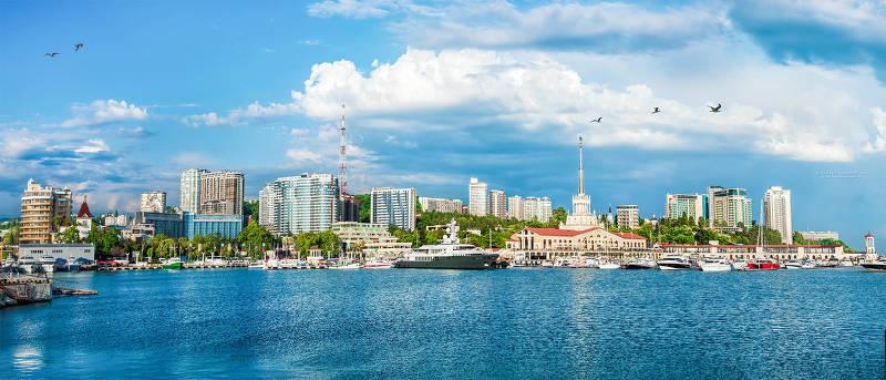Самые теплые города России