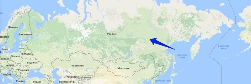 Самая большая страна — Россия