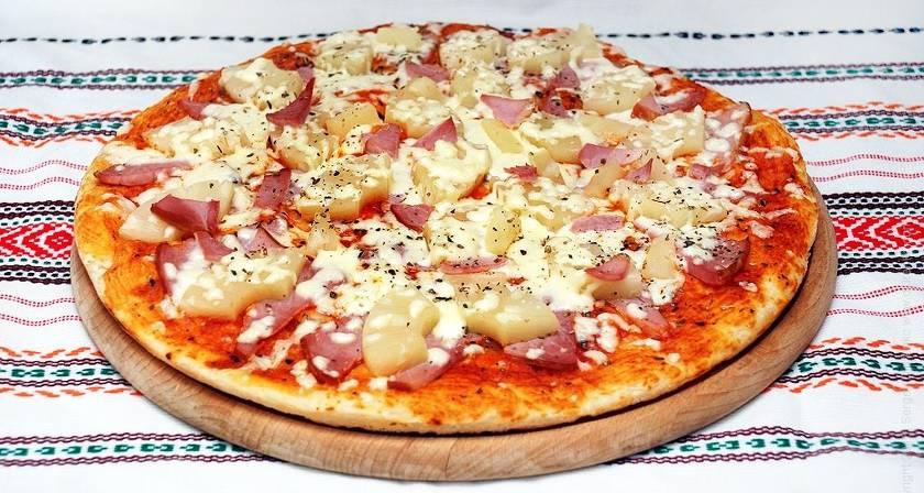 Пицца в домашних условиях — лучшие рецепты