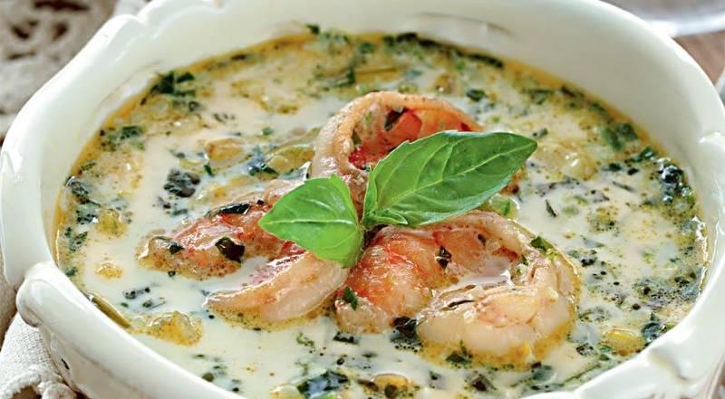 Суп с моллюсками