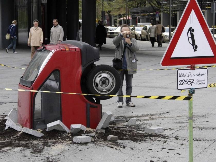 Самые нелепые аварии по глупости