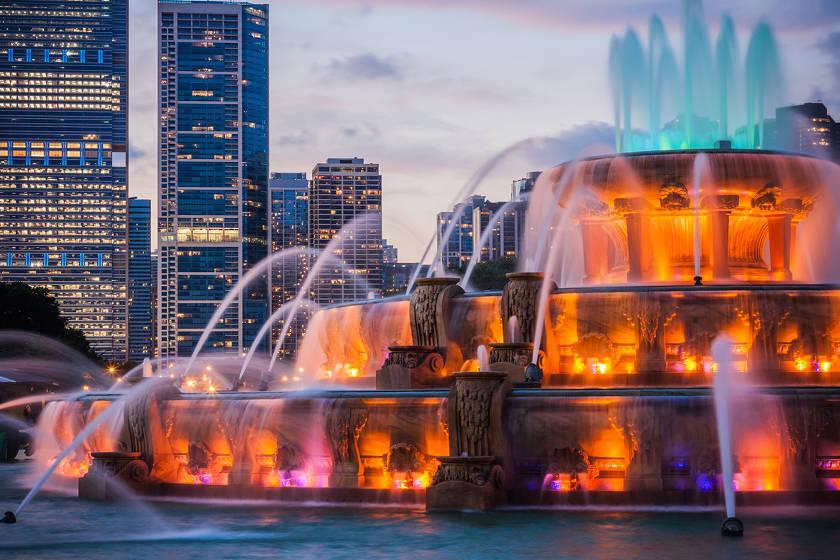 Топ 10 самых больших фонтанов