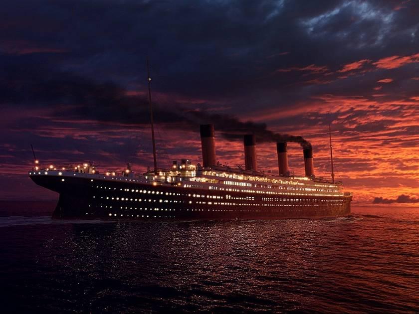 История крушения Титаника