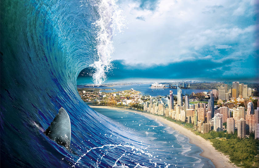 Самые крупные цунами за последние 12 лет